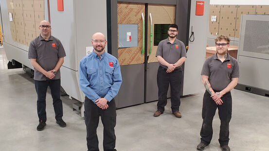 Bystronic achieves major milestone with first U.S. assembled BySmart Fiber laser cutting machine